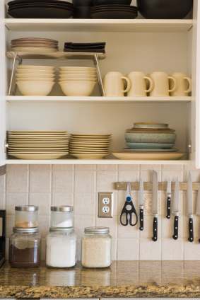 Kitchen Zones | Amber\'s Organizing Blog
